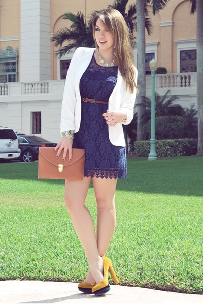Miu Miu blazer - Marni dress - BLVD Shoes heels