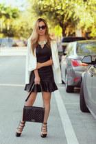 hms dress - jj jacket - Chanel bag
