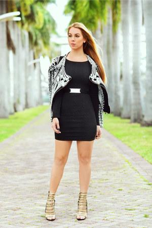 Hot Miami Styles dress - hms sandals