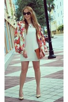 Sheinside blazer - asos dress