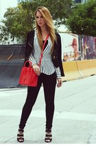 Celine bag - Hot Miami Styles blouse