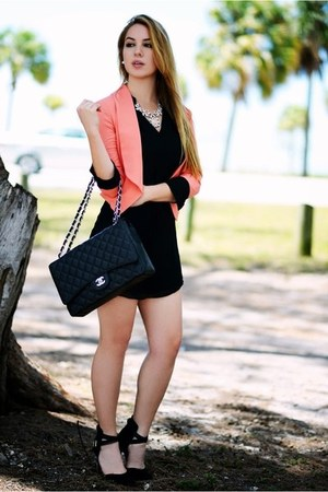 Hot Miami Styles dress - Chanel bag - Charlotte Russe heels