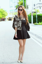 dior sunglasses - Darling Clothes cardigan - ami clubwear pumps