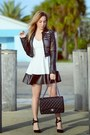 Charlotte-russe-dress-charlotte-russe-jacket-chanel-bag