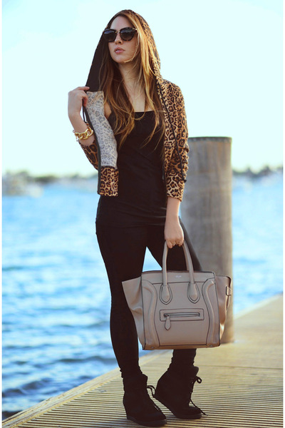 Hot Miami Styles jeans - Celine bag - Zara sneakers - Hot Miami Styles hoodie