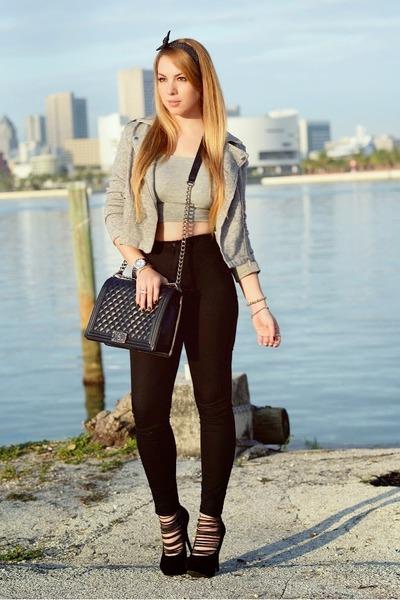 Hot Miami Styles jacket - Chanel bag