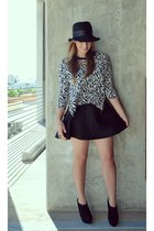 Nine West hat - Forever 21 sweater - H&M skirt