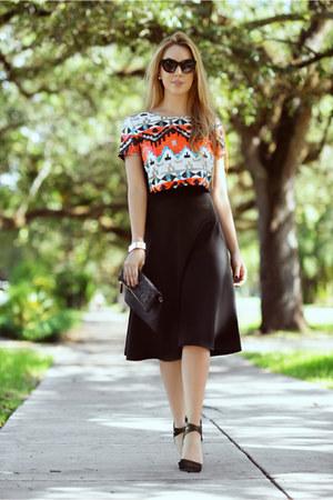 Celine sunglasses - Charlotte Russe skirt