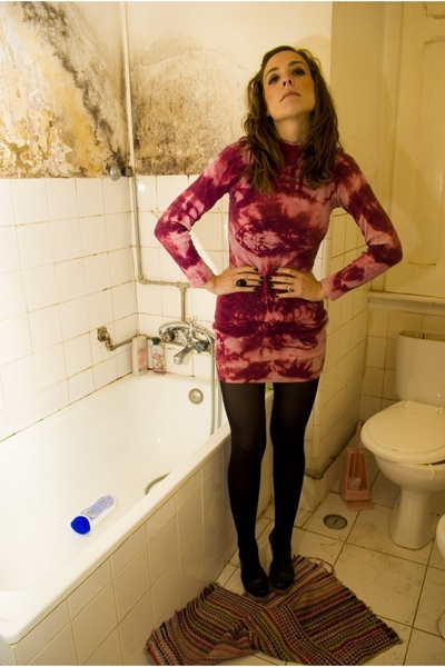 dress - H&M tights - Zara shoes