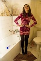 dress - H&M tights - Zara shoes