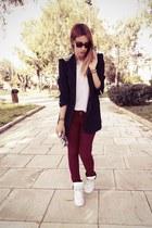 Zara bag - Zara blazer