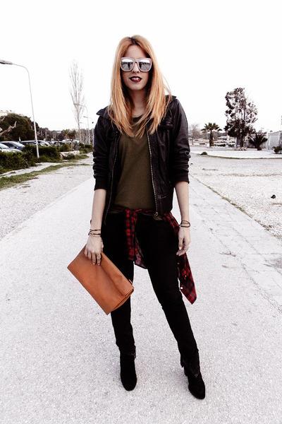 Zara bag - DSquared pants