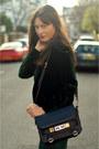 Black-oversizedcacoon-sandro-coat-black-shoulder-proenza-schouler-bag