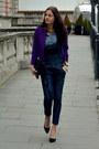 Navy-dungarees-diesel-jeans-deep-purple-oversized-h-m-trend-jacket