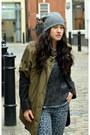 Black-ankle-boots-elizabeth-and-james-boots-mango-coat-parka-edun-coat
