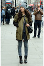 Black-ankle-boots-elizabeth-and-james-boots-mango-coat-parka-edun-coat
