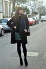 Black-oversizedcacoon-sandro-coat-black-shoulder-proenza-schouler-bag
