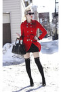 Black-ankle-boots-sole-society-shoes-red-military-sammydress-coat