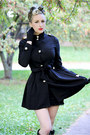 Black-wedges-sole-society-boots-black-trench-oasap-jacket