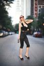 Black-clutch-old-bag-ruby-red-cat-eye-marilyn-eyewear-sunglasses