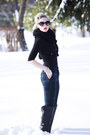 Black-faux-leather-sole-society-boots-black-chunky-h-m-scarf