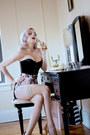 Pink-fringed-wheels-dollbaby-shorts-black-corset-orchard-corset-intimate