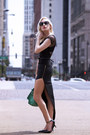 Green-lulus-bag-black-cat-eye-kate-spade-sunglasses-black-sole-society-heels