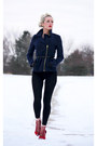Navy-charlotte-russe-coat-black-winter-oasap-leggings