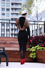 Black-faux-fur-voodoo-vixen-sweater-black-leopard-print-9th-elm-scarf