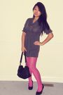 Silver-macys-dress-pink-filenes-tights-black-elliot-lucca-purse-gray-asos-