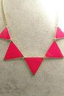 Triangle Collar Necklaces