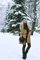 chicnova boots - chicnova scarf - chicnova bag