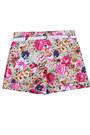 Floral-print-shorts