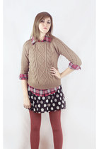 chicnova sweater - chicnova blouse - chicnova skirt