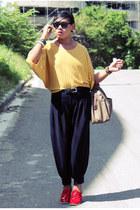 So FAB shoes - Maple shirt - vintage bag - vintage pants