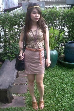 Zara dress - skirt - belt