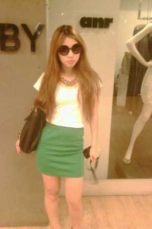 shoes - sunglasses - skirt