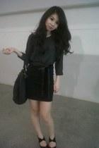 Forever 21 dress - Zara heels