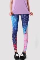 Galaxy Star Print Legging
