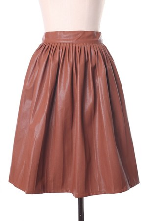 faux lether Chicwish skirt
