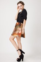 Chiffon-chicwish-skirt