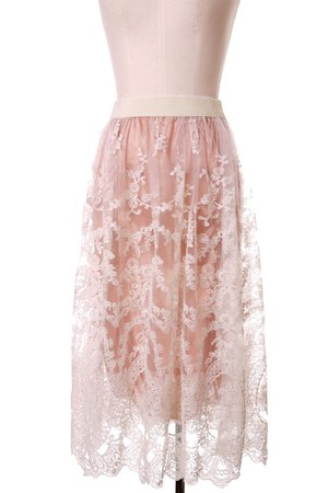 lace Chicwish skirt