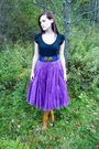 Purple-urban-outfitters-skirt