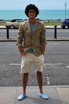 Gap blazer - Gap t-shirt - Gap shorts - cheap pair of espadrilles shoes