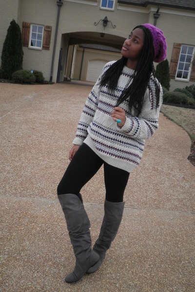 Goodwill Sweaters Payless Boots Forever21 Hats Dillards Leggings