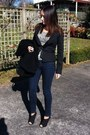 Black-kagui-boots-navy-jeans-black-jacket-leopard-print-top