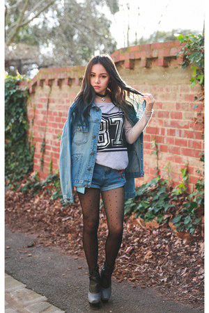 denim boyfriend Factorie jacket
