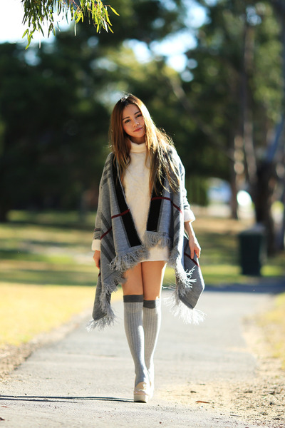 knit Wear All cape - dress One Boutique dress