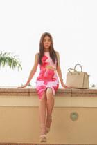 floral Tiger Mist skirt