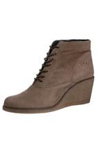 light brown dashu shoes - beige H&M scarf - black Zara bag